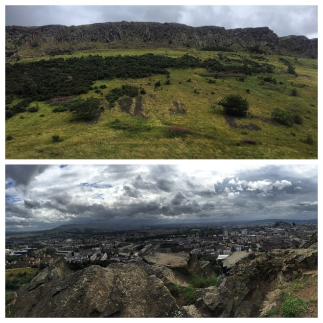 Arthur's Seat...from the bottom and the top!
